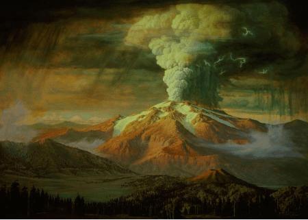mount-mazama-en-eruption-par-paul-rockwood-image-national-park-service-usgs