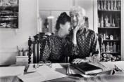 Florette et Jacques-Henri Lartigue en 1981 (photo John Loengard).jpg