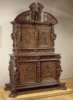 armoire à 2 corps, 1617 (musée du Louvre)