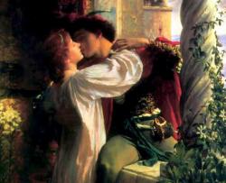 Franck Dicksee - Roméo et Juliette (détail), 1884.png