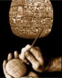 Inscribing clay tablets with our history the Sumerian way