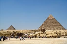 Sphinx Pyramids People