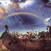 ENKI FESSED HE FATHERED NOAH; ENLIL PUT NOAH'S SONS IN CHARGE OF EARTHLINGS