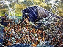 Ark lifts off its moorings
