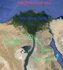 Giza Pyramid Map