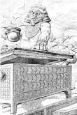 Seth traps Osiris