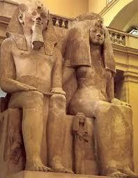 Ahmenotep III and Moses Mom Queen Tiye,