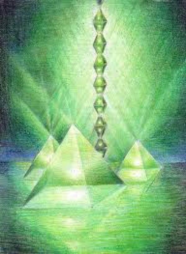 Bosnian Pyramid beaming energy