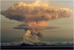 Nuking volcano