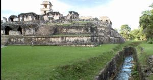 Palenque with plumbing