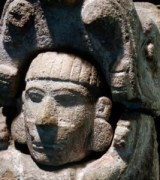 1 Maya-Kuklukan-Emerging-from-his-craft-3-shown-as-Serpents-head1-267x300