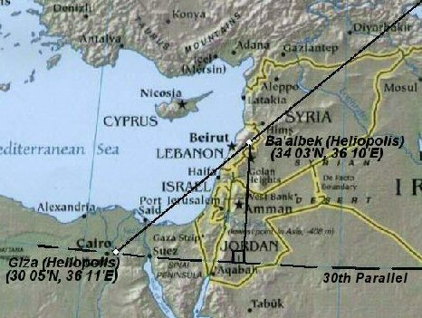 Giza map alignment of Ararat, Sinai 1