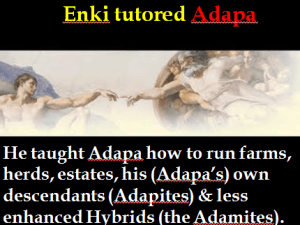 Enki Tutored Adapa slide w caption