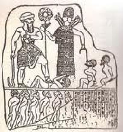 Anunnaki Princess Inanna and half breed Sargon conquered Earthlings