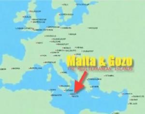 Malta map