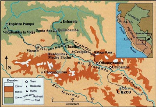 Cuzco map