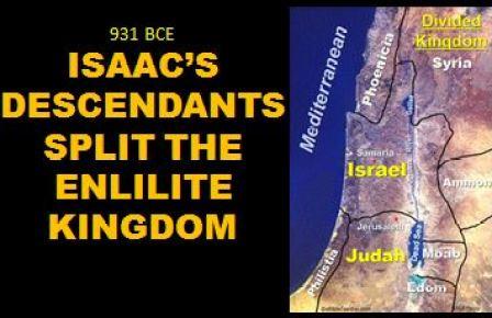 931BCE Israel splits