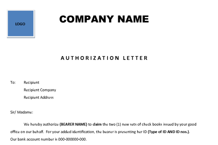 Authorisation letter format to collect certificate fresh 14 fresh authorisation letter format for collecting documents authorisation letter format for collecting documents save sample authorization letter to collect spiritdancerdesigns Images