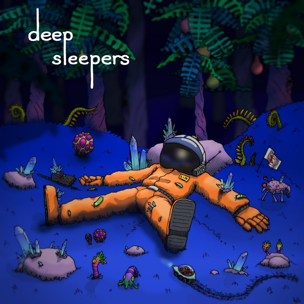 DeepSleepers Album Cover design