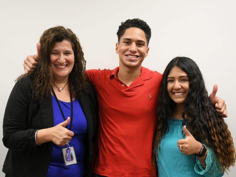 estudiantes latinos en Wake