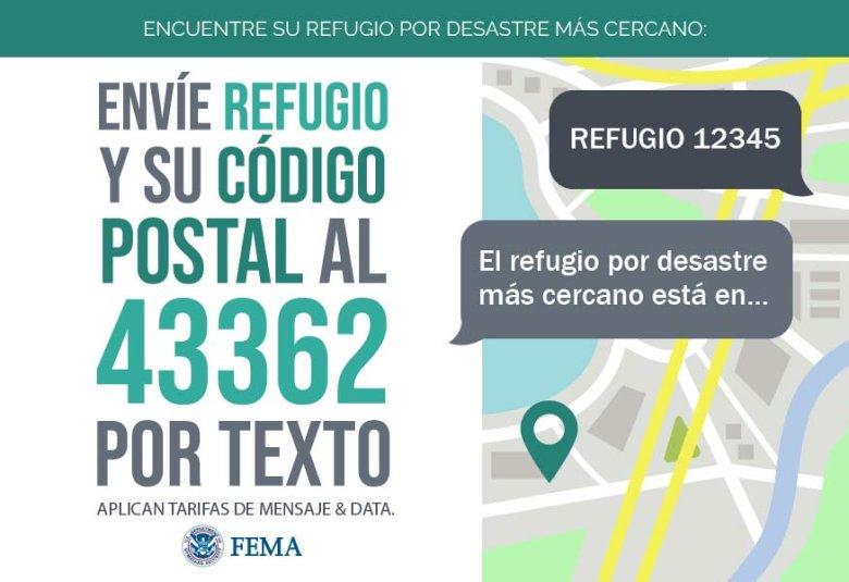 Encuentre su refugio de huracanes