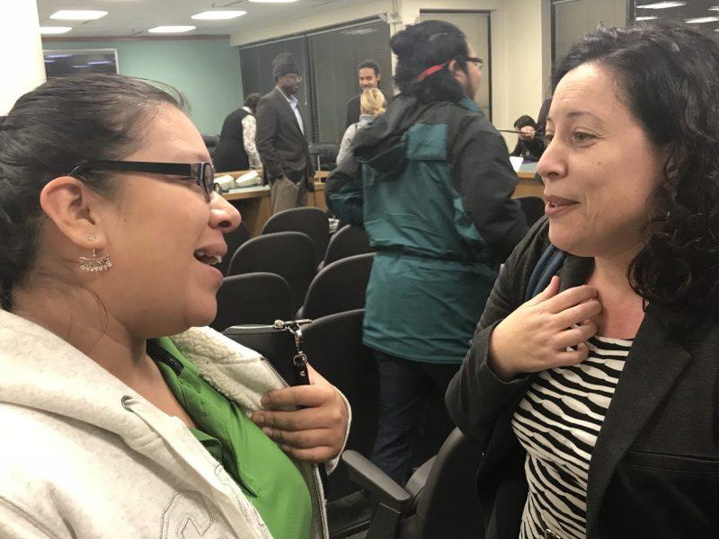 Javiera Caballero buscará fondo público para defensa de inmigrantes en Durham