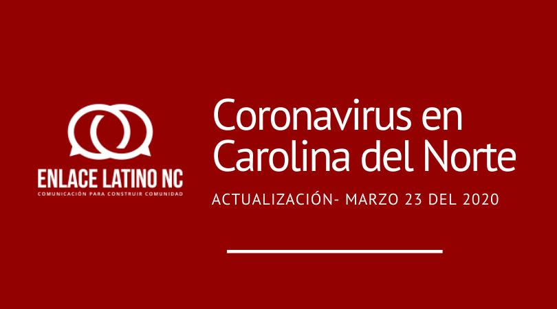 Coronavirus en Carolina del Norte