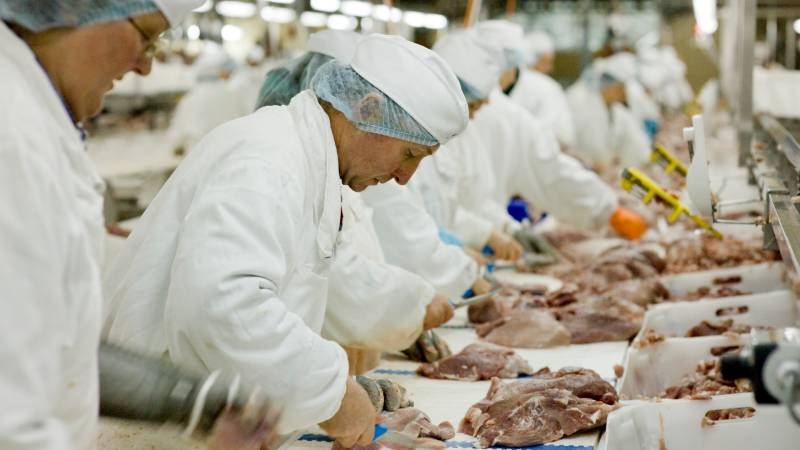 COVID outbreaks at meatpacking plants in North Carolina