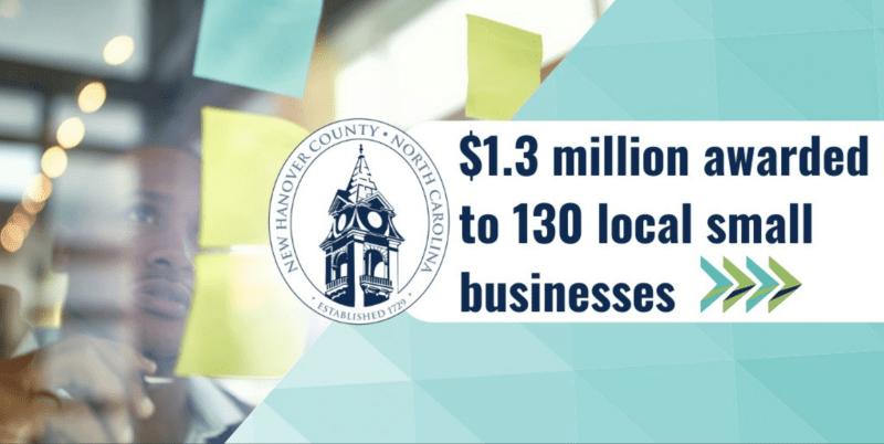 Subsidios a pequeños negocios en New Hanover