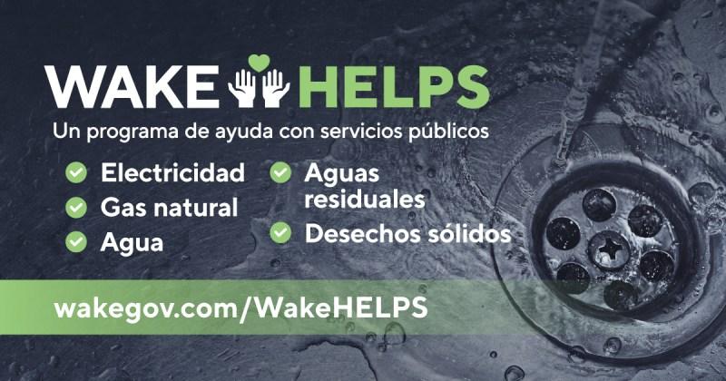 Programa de ayuda para pago de servicios públicos