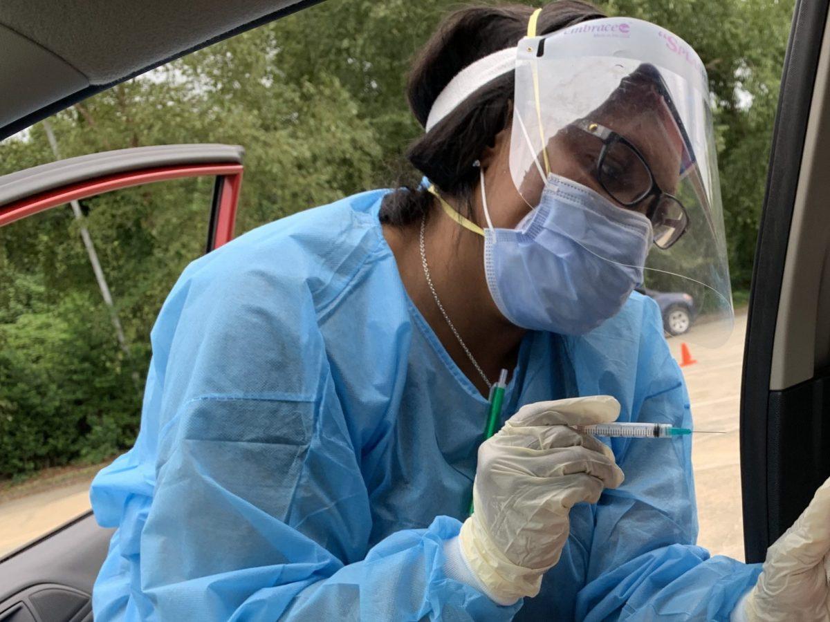 muerte por influenza en Carolina del Norte