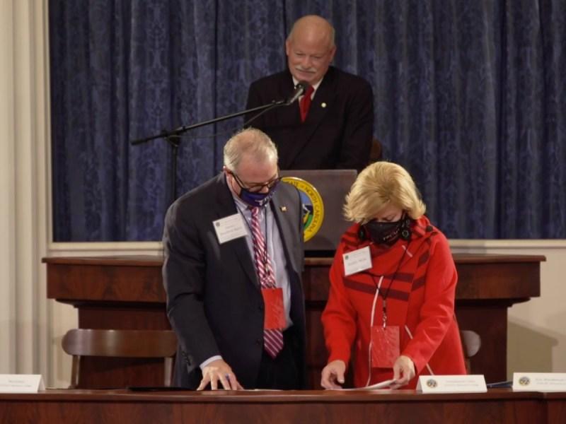 Miembros del Colegio Electoral -Compromisarios republicanos- de Carolina del Norte