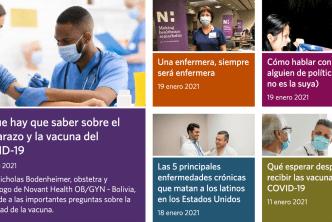 Novant Health lanza noticias de salud para latinos