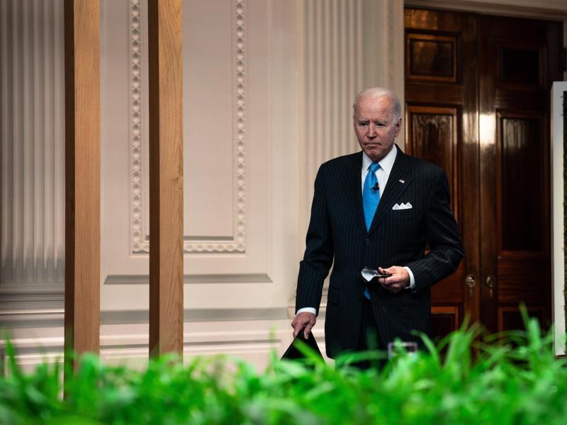 Biden con aceptación del 50% de los estadounidenses