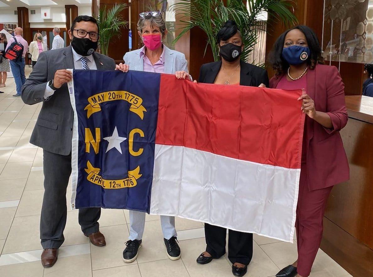 Legisladores de Carolina del Norte