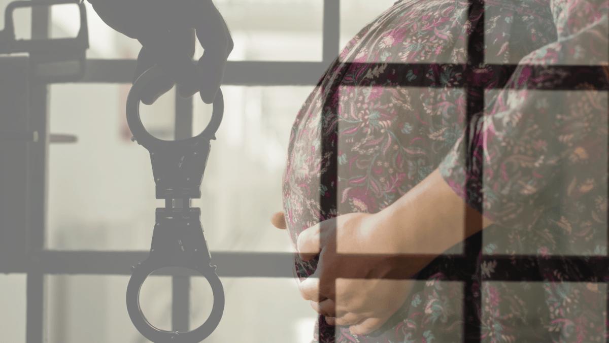 Mujeres embarazadas y encarceladas en Carolina del Norte