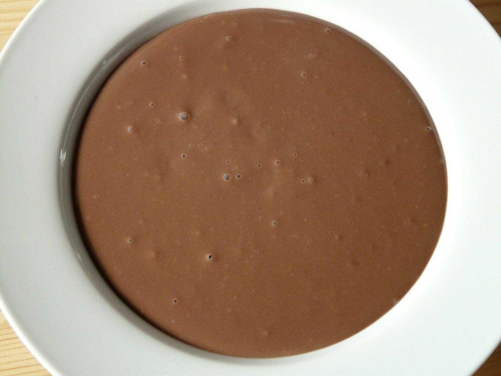 Natillas de chocolate en la Thermomix