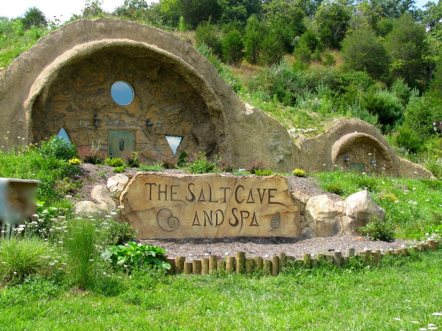The Salt Cave and Spa in Lewisberg, WV