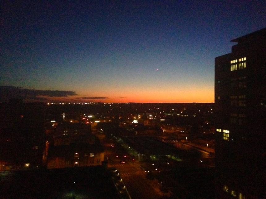 Sunset at the Ritz-Carlton Denver