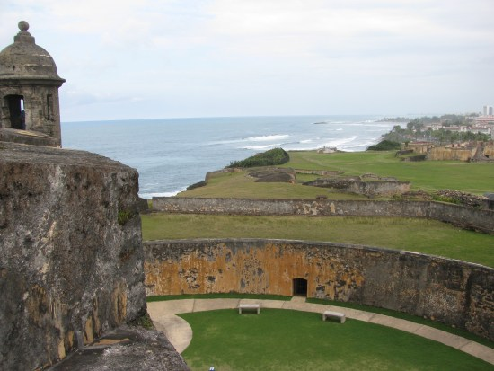 Fort San Cristobal in Old San Juan, Puerto Rico