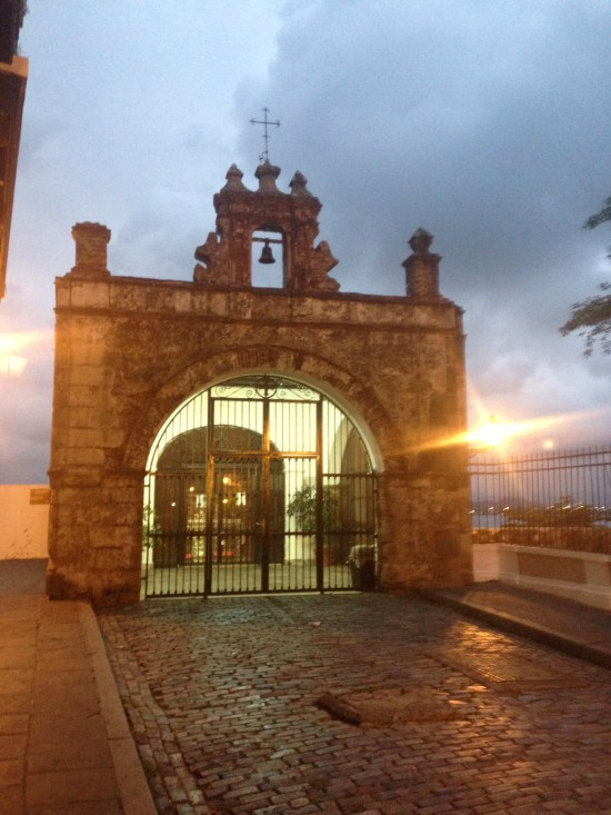Anam Day Spa in  Old San Juan is located next to Parque De Las Palomas park on the water.