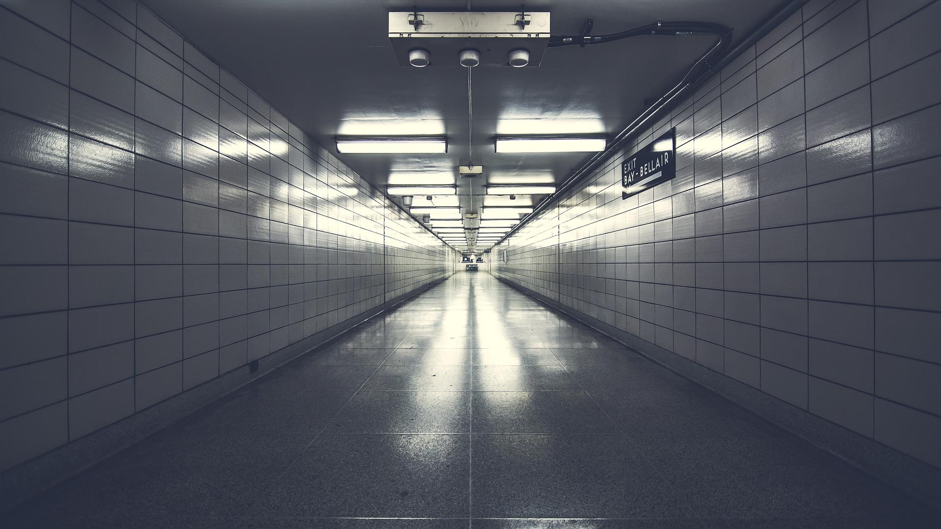 Between Two Worlds In The Interdimensional Hallway