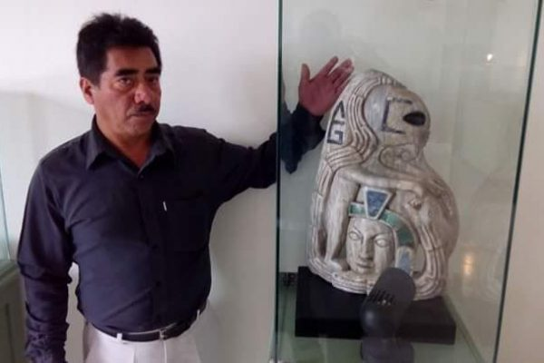 Experts in Mexico unearth Ancient Maya statue depicting an 'Alien' figure