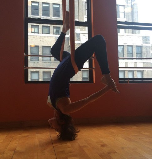 IT'S NEVER TOO LATE TO LEARN TO FLY – Aerial & Vinyasa Yoga in NYC