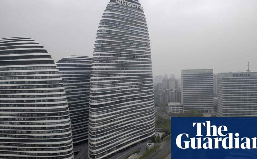 Publisher fined $29,000 for blog saying Beijing office complex had bad feng shui | World news | The Guardian