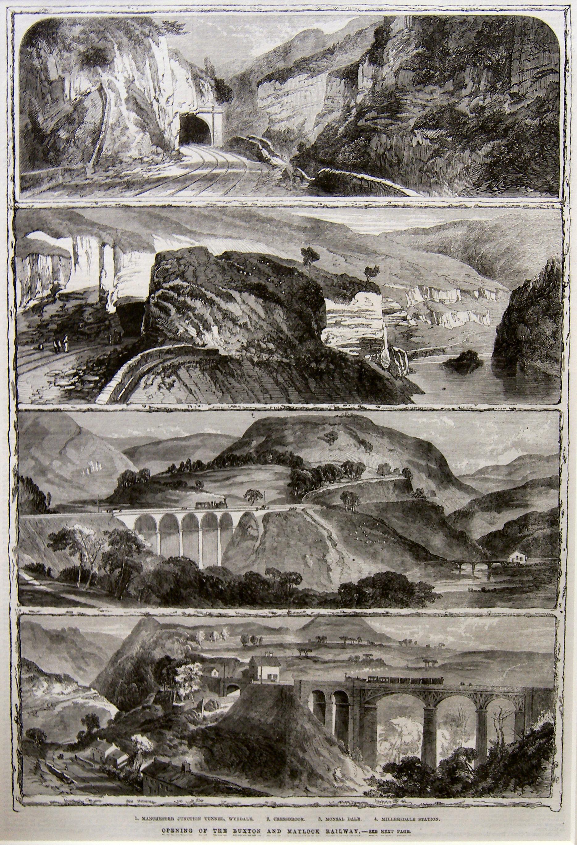 Buxton and Matlock Railway 1863