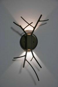LED Twig sconce designed by Christopher Poehlmann