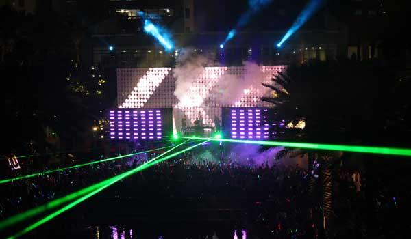 Everlast Productions Lighting Miami Music Week