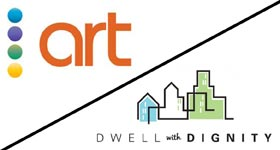 ART Teams Up With Dwell With Dignity