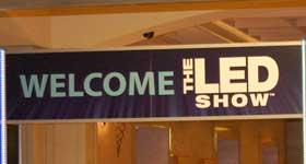 The 2012 LED Show in Las Vegas